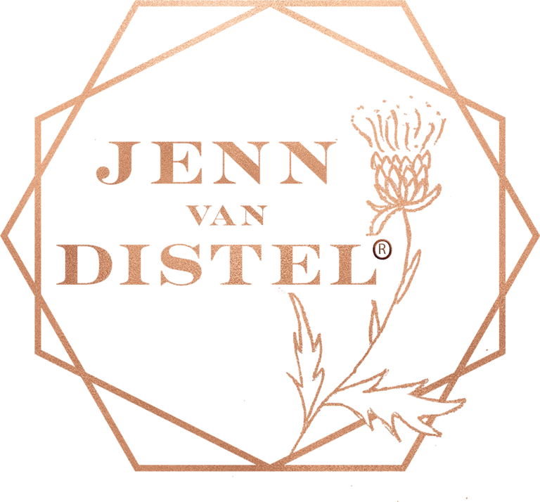 Jenn van Distel Logo